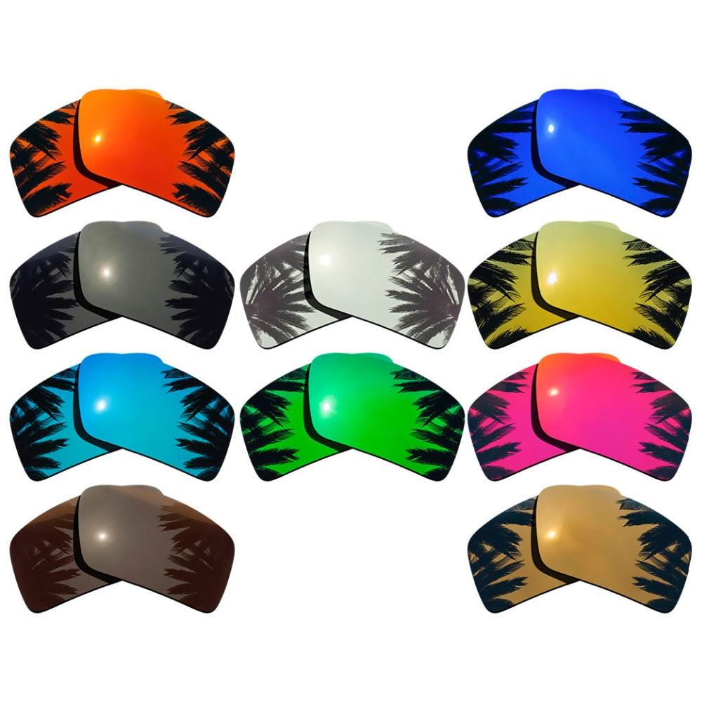 Polarized Mirrored Coating Replacement Lenses for-Oakley Eyepatch 1 Eyepatch 2 Frame Multi-Colors