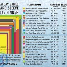 50 рукавом MAYDAY настольные игры карты премиум толще рукав Защитная прозрачная карта рукава