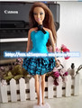 Кукла Платье Ручной Партия Одежды куклы Платье Для Куклы Барби, горячее надувательство игрушки для девочек подарок куклу аксессуары