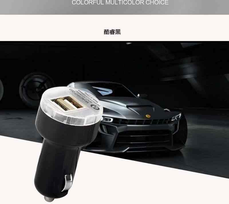 Car USB Charger Mobile Phone Charger 2 Port USB Car Chargers for Samsung Xiaomi Tablet Charger for cellphone