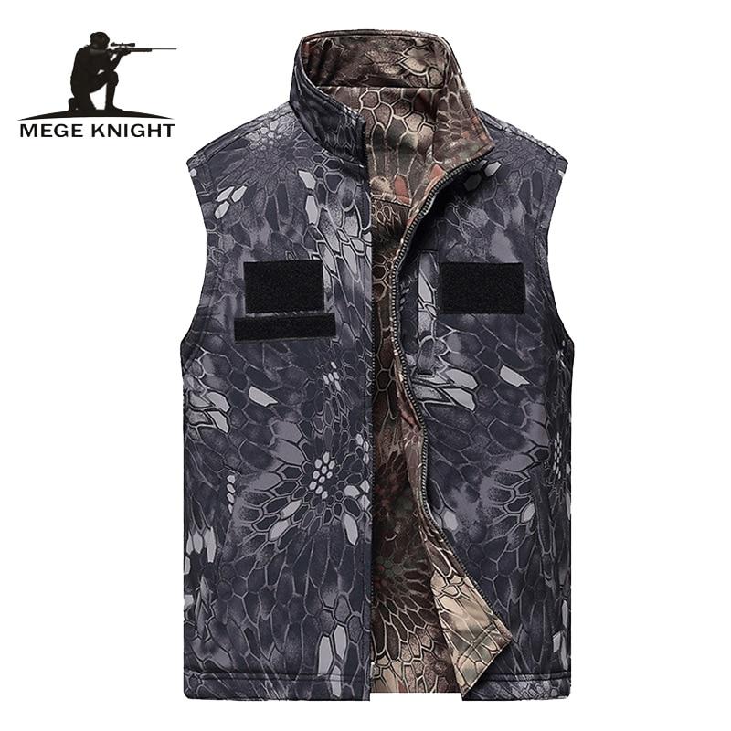 Chaleco de los hombres ropa táctica chaqueta sin mangas chaleco reversible ropa ejército masculino militar chaleco de combate chaleco
