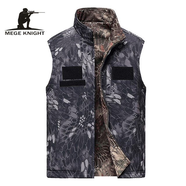 8e3d8e25329 Vest men clothing tactical sleeveless jacket reversible vest clothing male  army military waistcoat combat vest