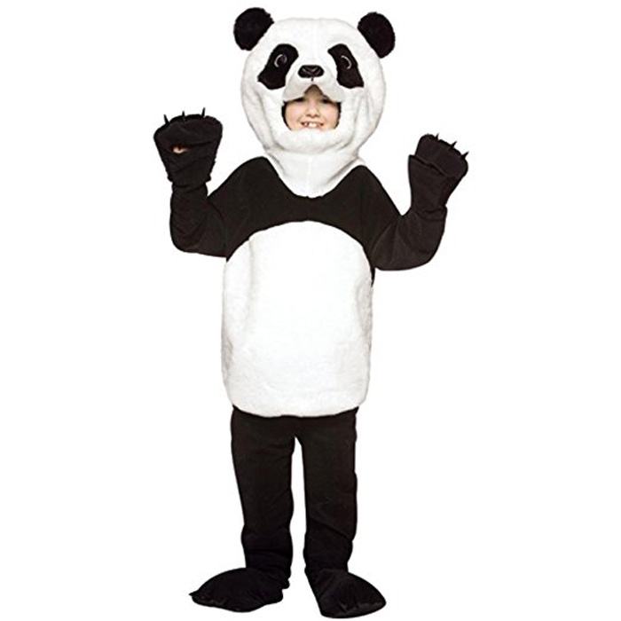 Faithful Fashion New Funny Plush Panda Bear Animal Costume For Child Kids Party Show Strengthening Waist And Sinews