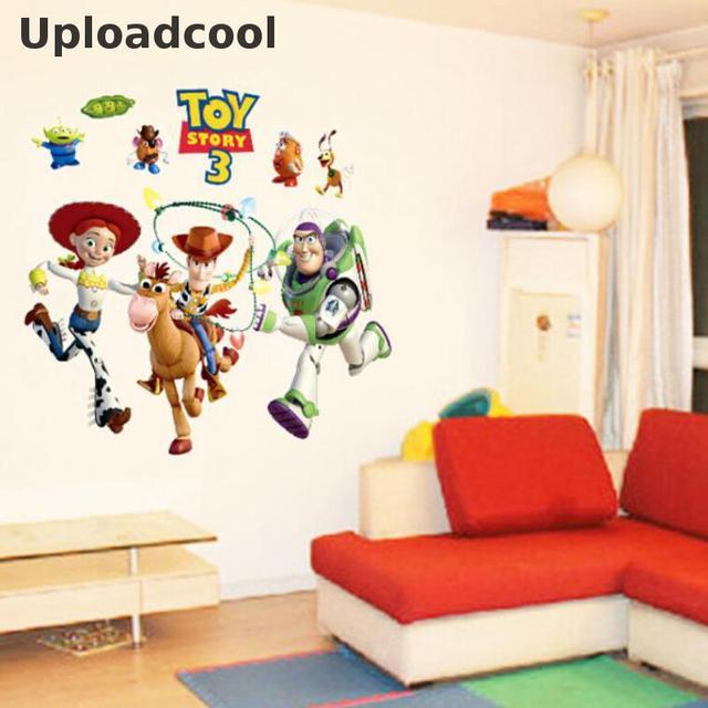 Uploadcool _ Buzz Lightyear Toy Story Wallpaper Vinyl Wall ...