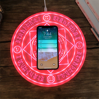 Universal Qi Wireless Charger Magic Circle Wireless Fast Charging Pad for iPhone X 8 Samsung S9 S8 Xiaomi Redmi Huawei Mate 20