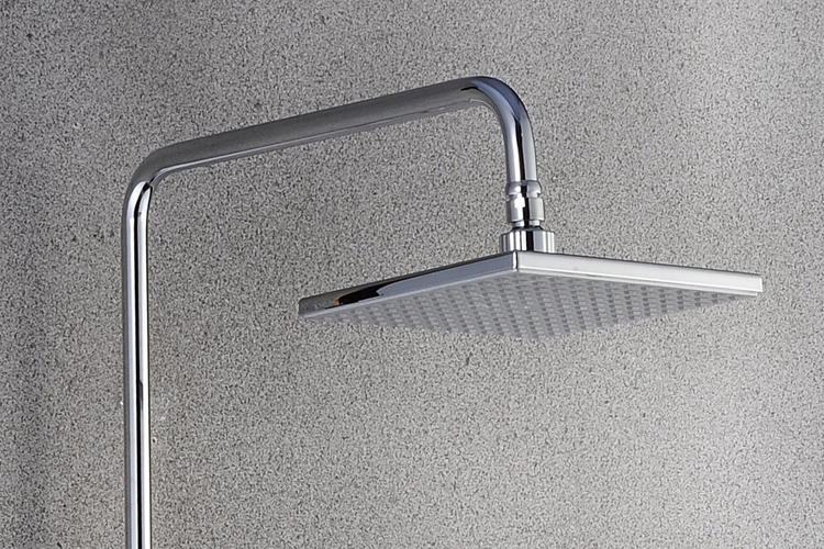 Stainless steel big rainfall shower faucet cold and hot water shower head set - 3