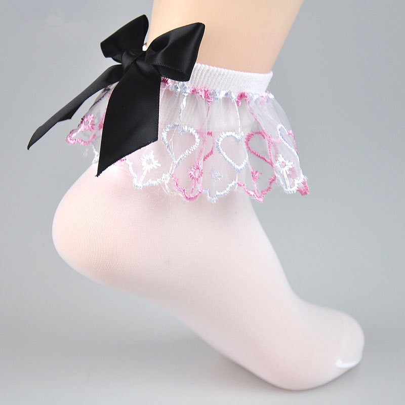 Girls Ruffle Dress Socks Reviews - Online Shopping Girls Ruffle ...