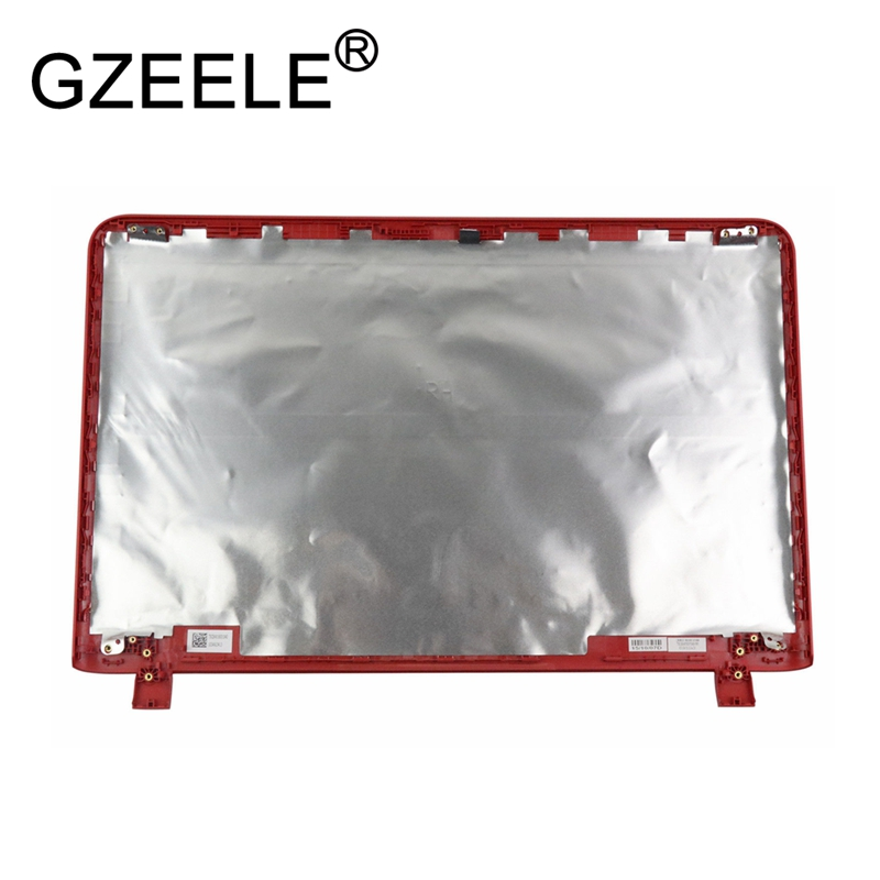 GZEELE New for HP Pavilion 17-G 17-G132DS 17-G127DS LCD Back Cover Lid Red 809274-001 TOP CASE gzeele new for dell precision 17 7710 7720 m7710 m7720 top cover a case switchable lcd back cover n4fg4 0n4fg4 lcd rear lid case