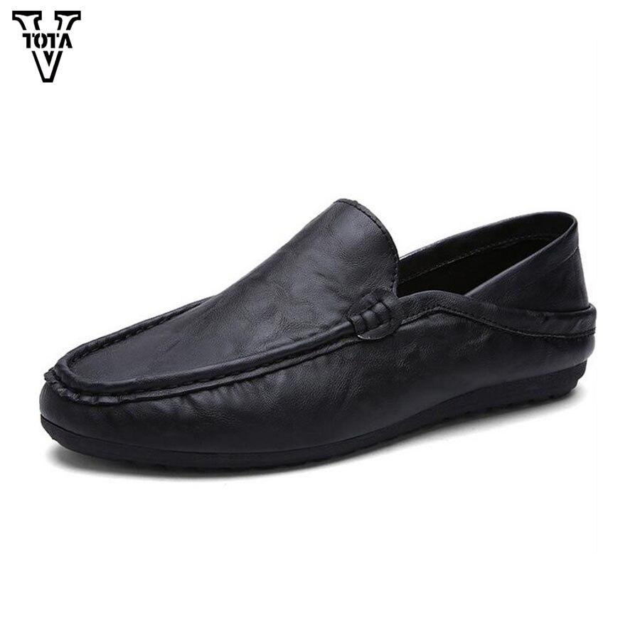 Los Hombres de alta Calidad Zapatos de Cuero de LA PU Zapatos de Moda Casual Hom