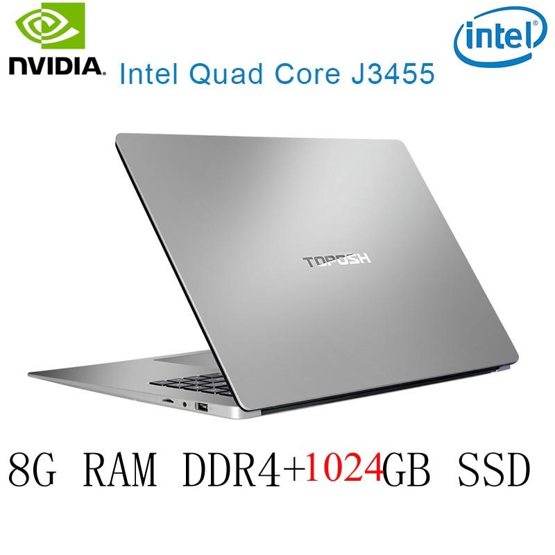 os זמינה עבור לבחור P2-42 8G RAM 1024G SSD Intel Celeron J3455 NVIDIA GeForce 940M מקלדת מחשב נייד גיימינג ו OS שפה זמינה עבור לבחור (1)