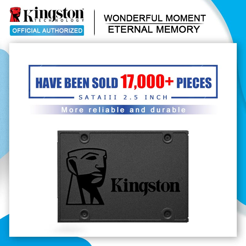 Kingston A400 SSD Внутренний твердотельный накопитель 120 ГБ 240 ГБ 480 ГБ 2,5 дюйма SATA III HDD жесткий диск HD SSD ноутбук ПК 960 ГБ