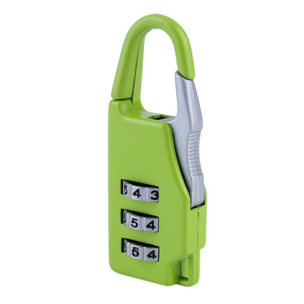 ใหม่มาถึง 1pcs Security 3 กระเป๋าเดินทางเดินทางรวมกระเป๋าเดินทางรหัสล็อคกุญแจซิป hot