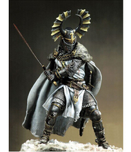 Assembly Scale 1 18 90mm Teutonic warriors fifteenth century 90 mm figure WWII Resin Model Free