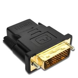 Image 4 - Переходник DVI 24 + 1 Male HDMI Female позолоченный DVI HDMI Двойной конвертер 1080P для ПК PS3 проектор HDTV