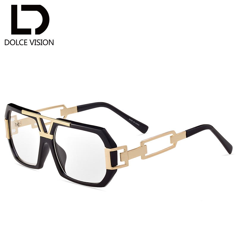 b85ae3e037a DOLCE VISION Rectangle Sunglasses Men Luxury Brand Shades Gradient Lens  UV400 Sun Glasses For Men 2018 Polygon Design Oculos Men-in Sunglasses from  Apparel ...