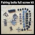Fairing bolts full screw kits For HONDA CBR1100XX Blackbird 96-07 CBR 1100 XX 96 97 98 99 02 03 04 05 06 07 Nuts bolt screws kit