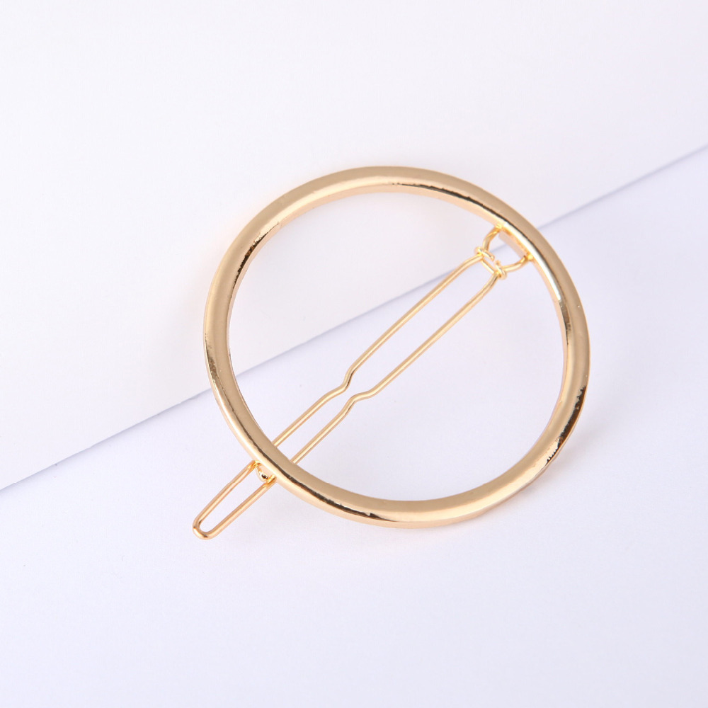 Women's Hair Accessories Lovely Vintage Polished Metallic Gold Hair Clips Girls Flower Shape Minimalist Duckbill Hairpins Imitation Pearl Anti Allergy Barrettes Do You Want To Buy Some Chinese Native Produce?