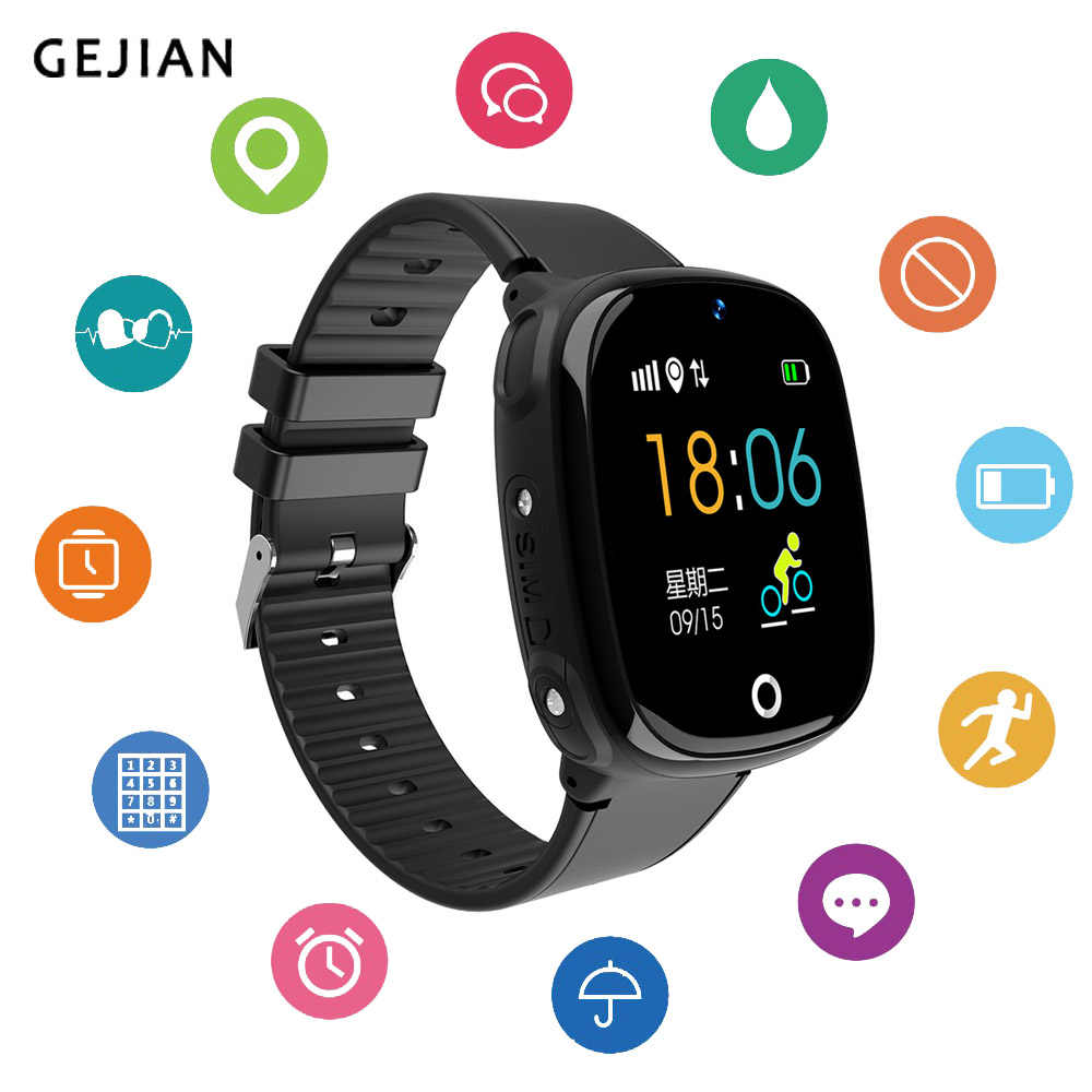 Children Smart Watch  Bluetooth Pedometer Remote camera Waterproof Smartwatch Wearable Device GPS SOS Call Kids Safe For Android