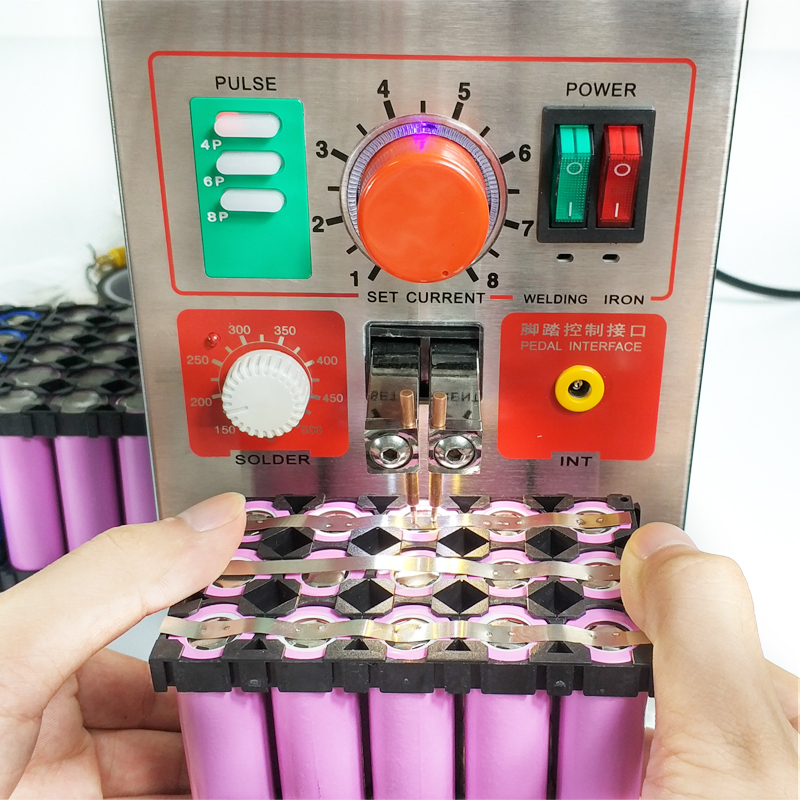 SUNKKO 709A 1.9kw spot Soldadores Pulso soldador Local Da Bateria Ferro De Solda e Solda a Ponto Máquina de produção de 18650 bateria