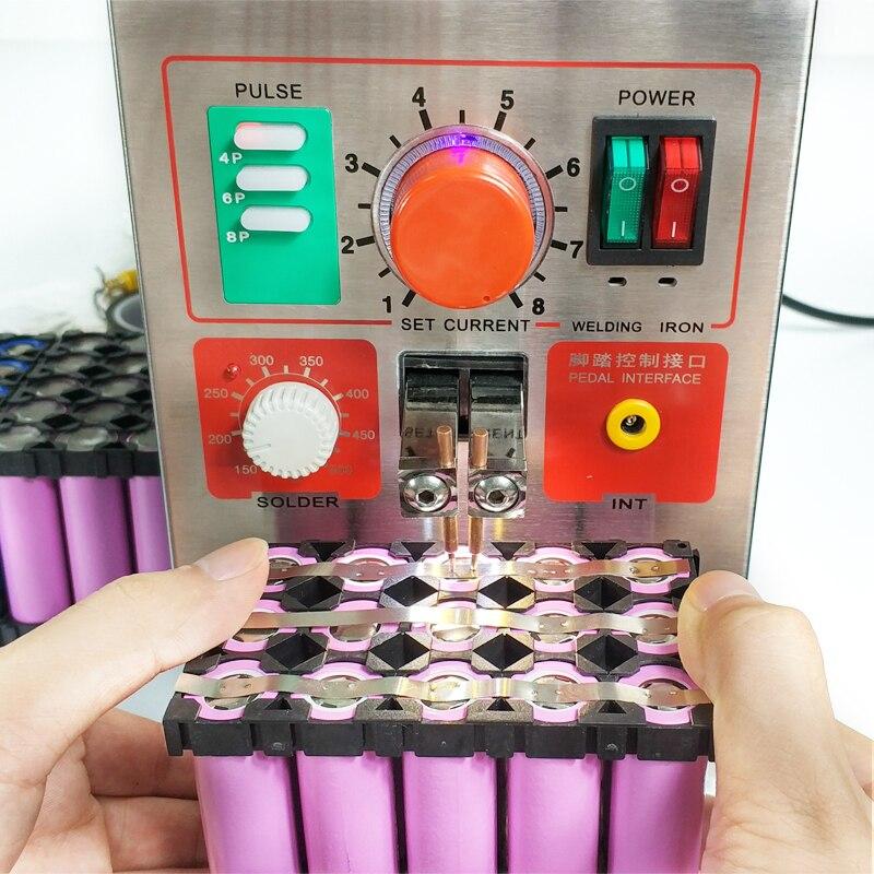 SUNKKO 709A 1.9kw spot saldatore Pulse Batteria Spot Saldatori Saldatura di Ferro e di Macchina di Saldatura a punti 18650 batteria di produzione