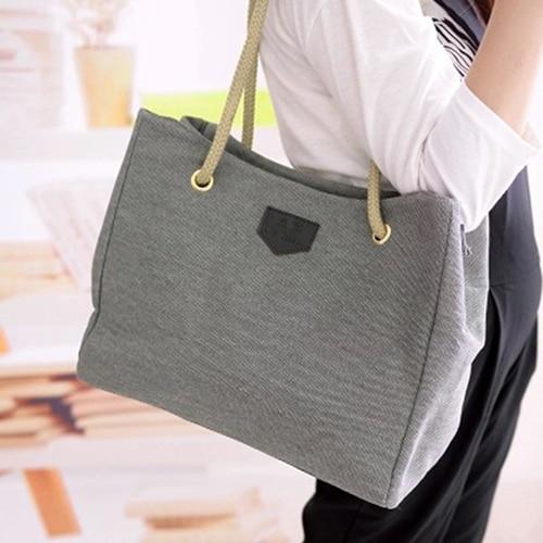 Women's Fashion Hobo Canvas Shoulder Bag Messenger Purse Satchel Tote Handbag