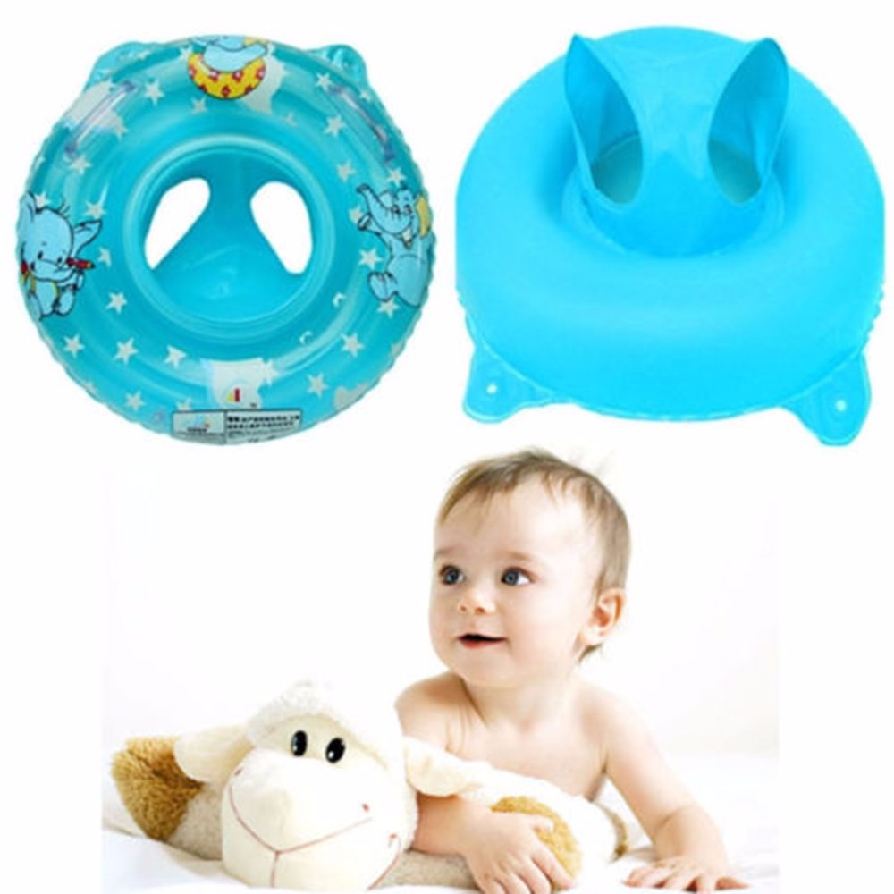 New Inflatable Baby Child Handle Safety Seat Float Swim Swimming ...