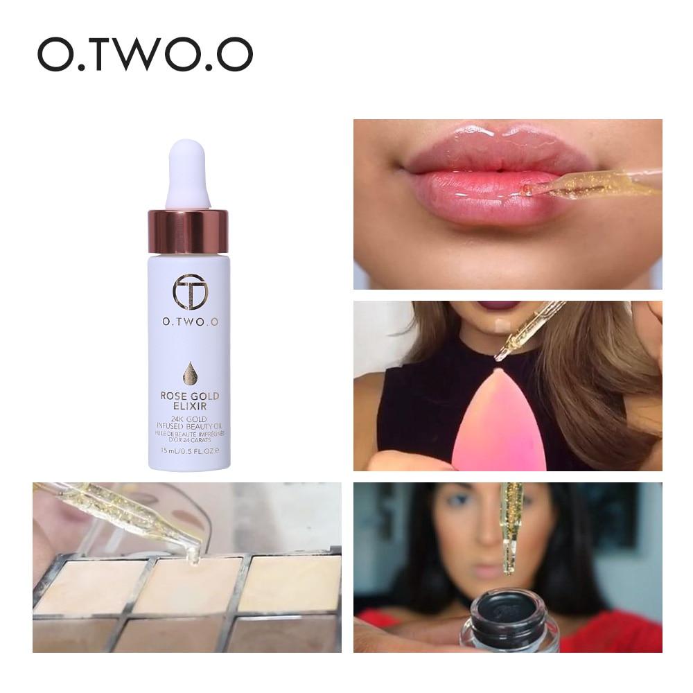 O.TWO.O 2τμ / σετ Μακιγιάζ 24k Rose Gold Elixir Skin - Μακιγιάζ - Φωτογραφία 4