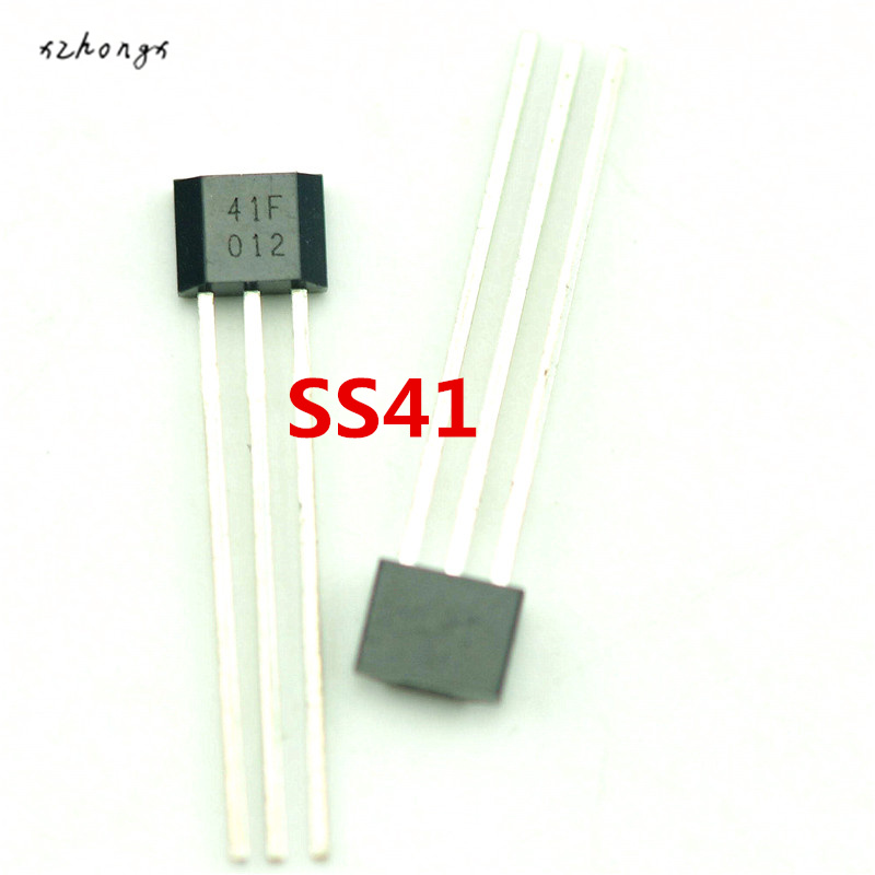 XNWY 10PCS <font><b>SS41</b></font> SS41F TO3 SENSOR SS HALL EFFECT BIPOLAR NEW image