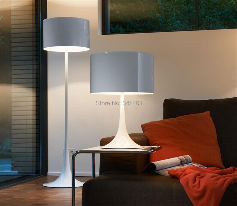 Floor Lamp For Office: Indoor Lighting- Spun gentleman Floor Light sitting room art aluminum floor  lamp high-grade,Lighting