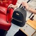 Ingenuidade Nova Moda Mochila de Couro PU Mulheres Bolsa de Ombro Doce bolsa de Viagem Mochila CS61108 transporte da gota