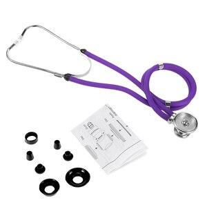 Image 4 - Stéthoscope médical à Double tête professionnel Portable multifonctionnel 55cm Tube Double Estetoscopio équipement outil de soins de santé