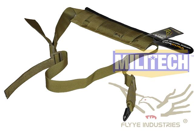 Especificación militar Coyote Brown CB FY-SL-S005 FLYYE Tactical Rifle Punto Único Gen 2 Honda Honda Sola Versión II