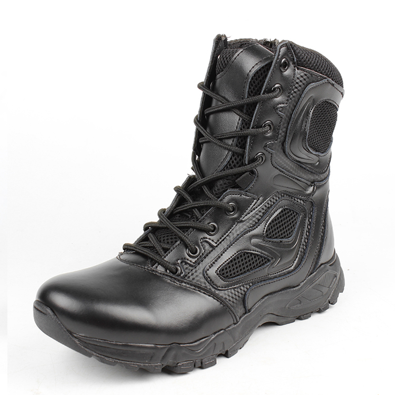 2019 Summer Tactical Boots Motorcycle Breathable Military Assault Combat Ankle Boots New  Men Black Desert Safety Army Shoes