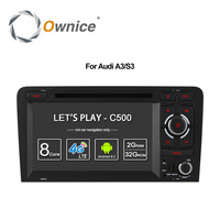 1024 600 Ownice C200 2G RAM Quad Core Car Autoradio DVD Android 4 4 For Audi