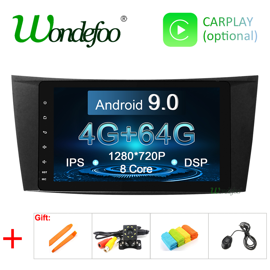 8 DSP IPS Android 9 0 4G 64G Car GPS For Mercedes Benz E class W211