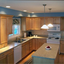 2019 plywood carcase solid wood modular kitchen cabinets fur