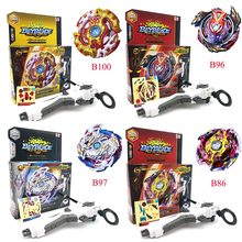 Beyblade Burst B100 B97 B86 B92 B96 B102With Launcher Kids Boys Funny Toy Starter Zeno Excalibur .M.I (Xeno Xcalibur .M.I) Bable(China)