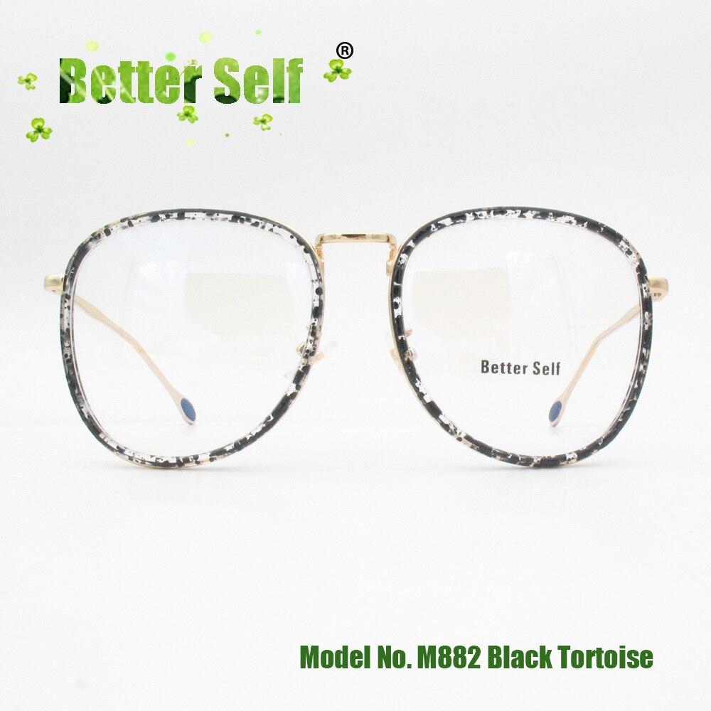 d418c81b789 Large Men Women Fashion Eyewear Retro Vintage Eyeglasses Frame Can Do Myopia  Eye Glass oculos de