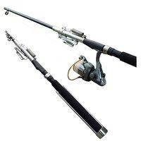 Free shipping Creative Sensitivity Automatic Fishing FRP Sea Rod Spring Rod Sea Fishing Rod (Without Reel 2.1M/2.4M)