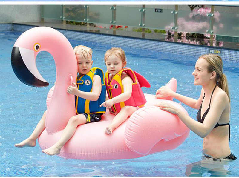 150 سنتيمتر نفخ فلامنغو بركة يطفو العملاق طوافة بلاستيكية للسباحة للكبار بركة السرير السباحة دائرة يطفو فلامنغو ألعاب قابلة للنفخ لحوض السباحة
