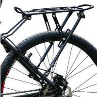 Loading 65Kg MTB Aluminum Alloy V Brake Cargo Shelf Bike Cycling Sport Rear Carrier Rack Seat Bike Accessories