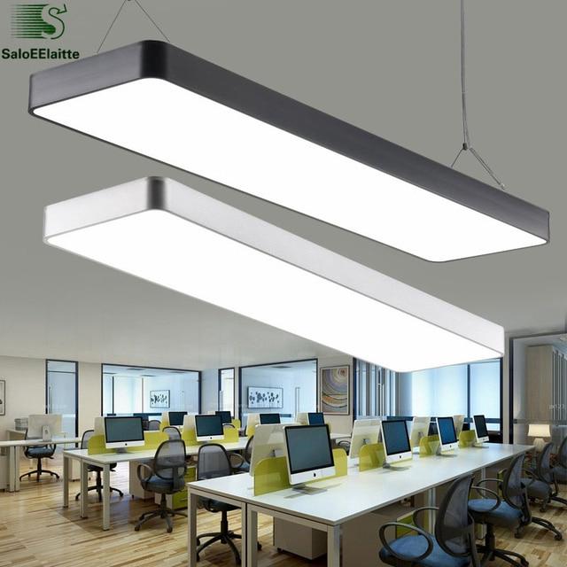 Moderna oficina minimalismo led luz colgante comedor led - Lamparas colgantes modernas ...