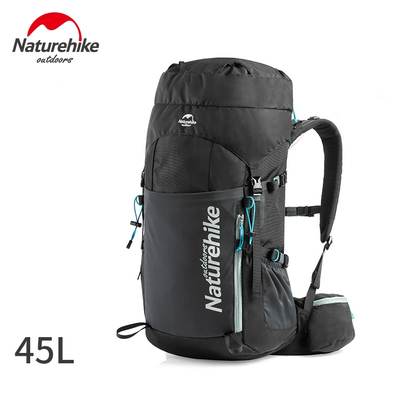 Naturehike 2019 New 45L Professional Outdoor Backpack Ultralight Hiking Camping Climbing Backpack with free rain cover