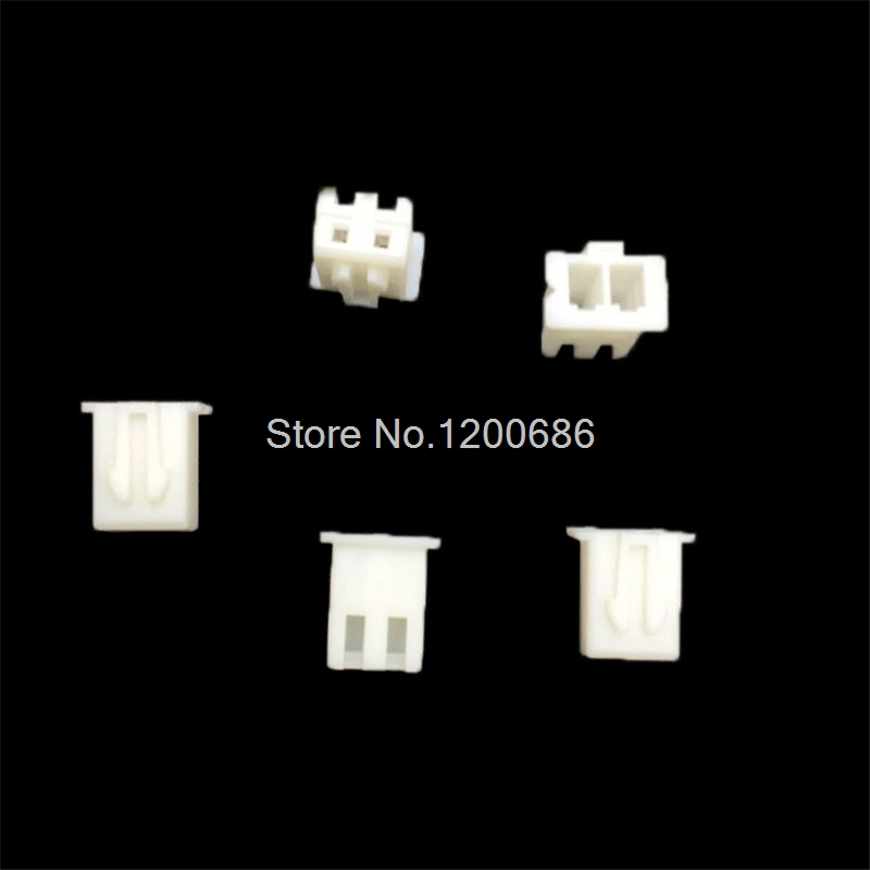 100 piece XH 2.54 2-Pin 2PIN Connector 2P plug female connector 200pcs 2 pin connector leads heade 2 54mm xh 2p kit