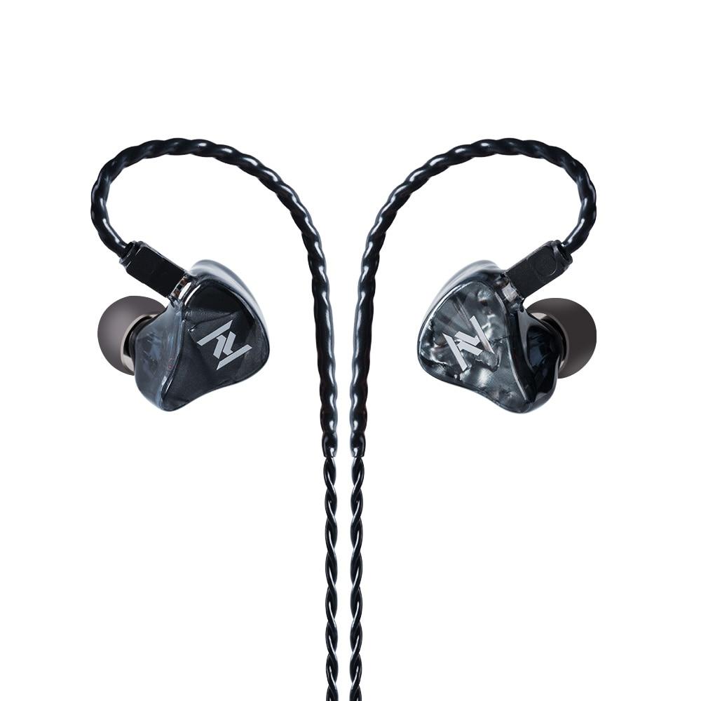 2019 Yinyoo ASH 1BA 1DD Hybrid In Ear Earphone HIFI DJ Monitor Earphone Earbuds For CCA