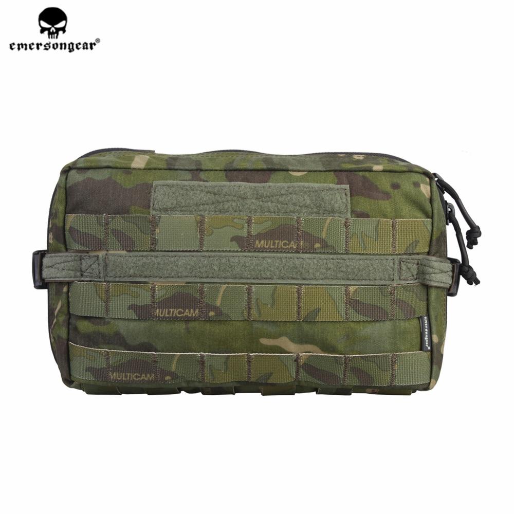 Poche de goutte utilitaire emersongear Emerson EDC poche compacte de chasse militaire multifonctionnelle Molle 500D Nylon Cordura