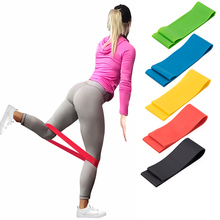 500mm Women Rubber Loop Pilates Resistance Bands Set Fitness BodyBuilding Physical Strength Therapy Training Home Yoga Expander
