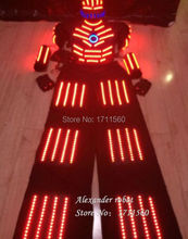 robot led Costume /ledrobot/led lights costumes/LED Clothing/Light suits/ LED Robot suits