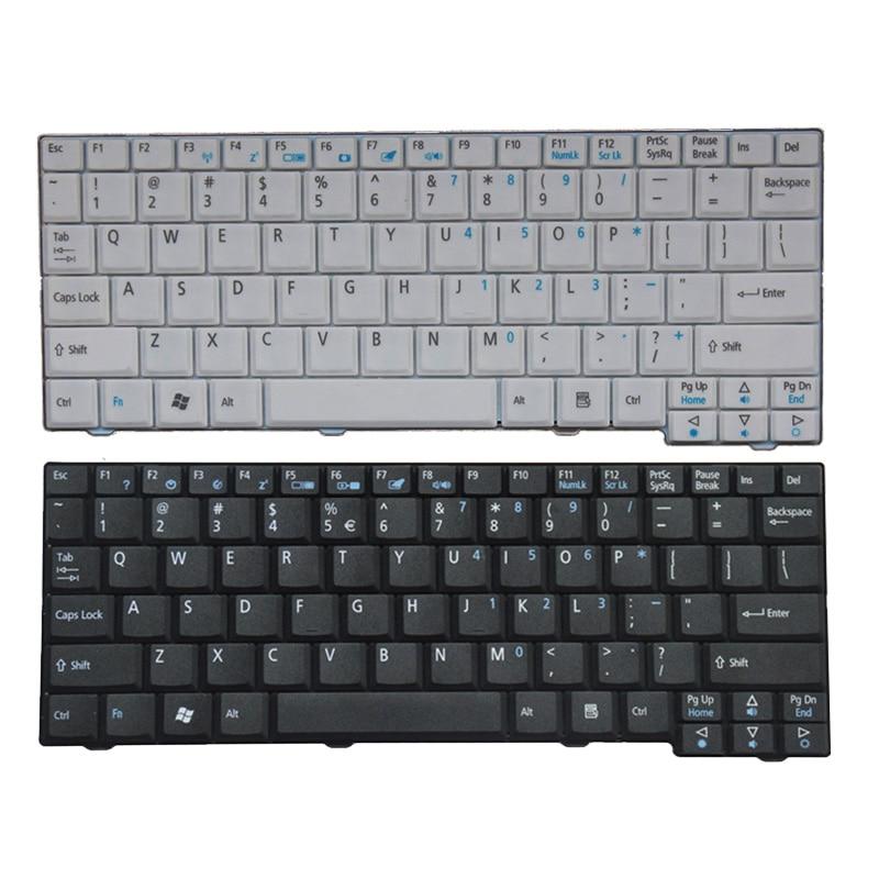 US Laptop Keyboard for Acer Aspire One ZG5 D150 D210 D250 A110 A150 A150L ZA8 ZG8 KAV60 Emachines EM250 Black keyboard|keyboard for acer|keyboard for acer aspire|laptop keyboard for acer - title=