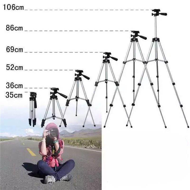 Professional Extendable Tripod Monopod For Camera Mobile Phone Ipad Aluminium Alloy Stand Mount Tripod Holder For DV Video 3